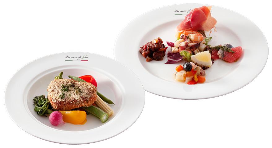 新鮮な食材を使った美味しいイタリアン